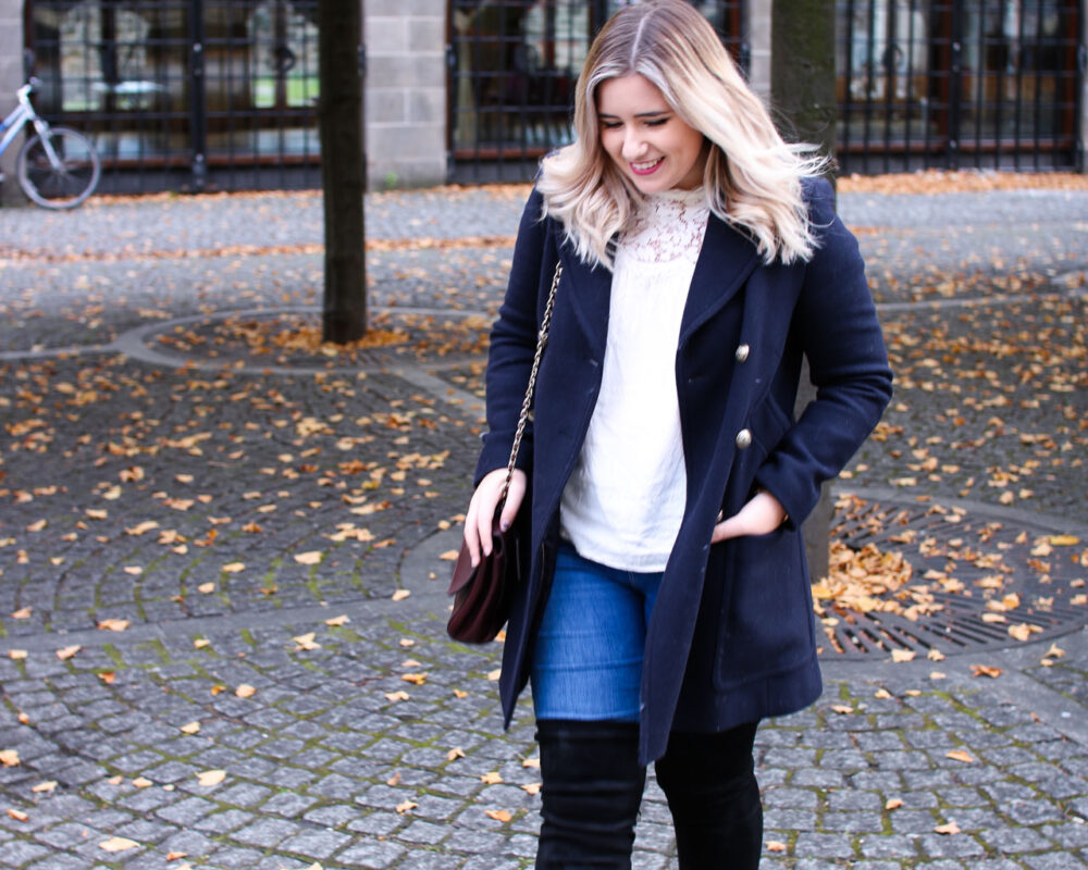 autumn style over the knee boots