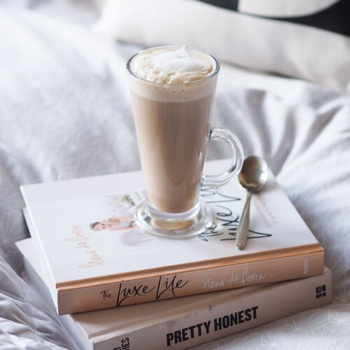 sunday catch-up: coffee in bed