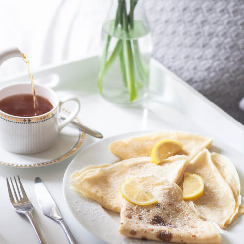 crepe recipe - the best french crepe recipe