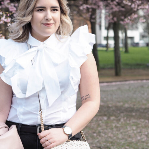 Spring fashion - styling the classic white shirt