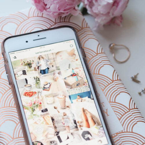 thoughts on instagram - algorithm, bots, themes