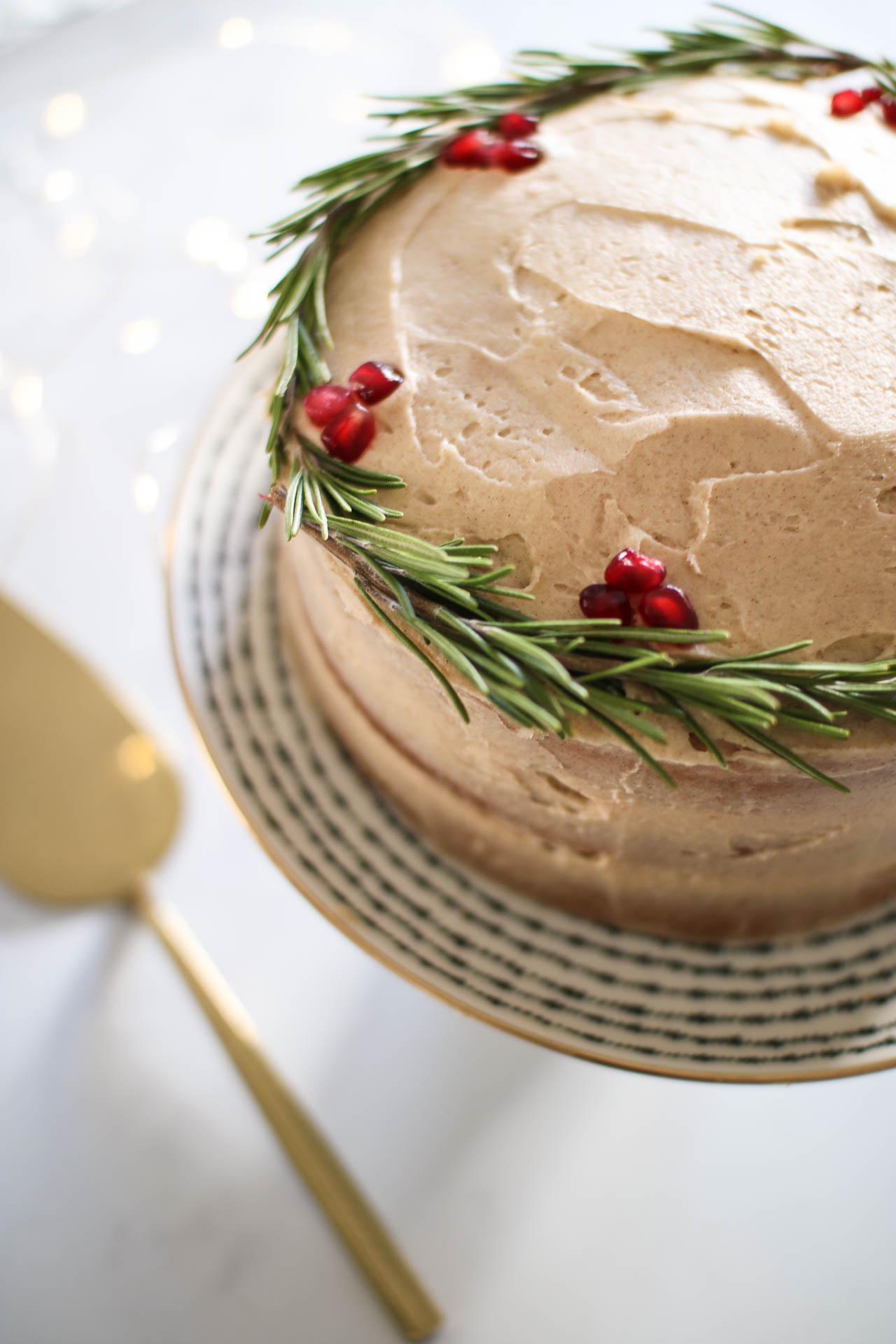 Christmas baking: Festive Spiced Cake recipe